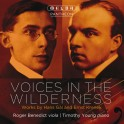 Gál & Krenek : Voices in the Wilderness, oeuvres pour alto et piano