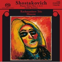 Chostakovitch, Dmitri : Trios avec piano et Sonate pour violoncelle