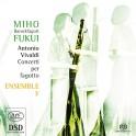 Vivaldi : Concertos pour basson baroque (fagotto)