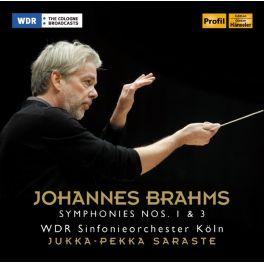 Brahms, Johannes : Symphonies n°1 et n°3