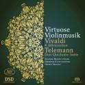 Vivaldi - Telemann : Musique virtuose pour violon