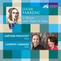Farrenc, Louise : L'Oeuvre pour violon & Piano