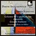 Chostakovitch - Schnittke : Concertos pour piano