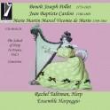 L'école de la Harpe en France Vol.3 : Oeuvres de Pollet, Cardon & Vicomte de Marin