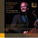 Schumann - Fauré - Tchaïkovski : Concerto Op.29, Elégie Op.24, Variations sur un thème Rococo