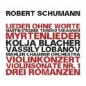 Schumann : Lieder, Sonates, Concerto, Romances