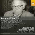 Farkas, Ferenc : Musique Orchestrale Vol.4, Oeuvres pour flûte et cordes