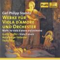 Stamitz : Oeuvres pour viole d'amour et orchestre