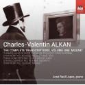 Alkan : Intégrale des Transcriptions Vol.1 - Mozart