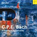 Bach, C-P-E : Symphonies d''Hambourg
