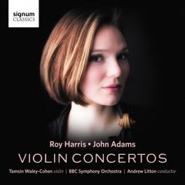 Harris - Adams : Concertos pour violon