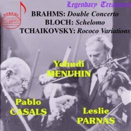 Bloch - Brahms - Tchaïkovski : Oeuvres orchestrales