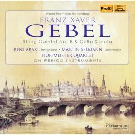 Gebel : Quintette à cordes, Sonate pour violoncelle