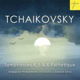 Tchaïkovski : Symphonies n°4, n°5, n°6