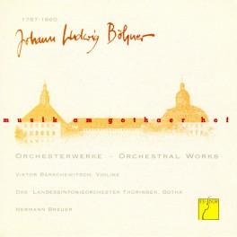 Musique à la cour de Gotha Vol.1 / Böhner : Oeuvres orchestrales