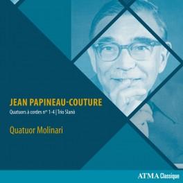 Papineau-Couture : Quatuors à cordes n°1 à 4, Trio 'Slanò'