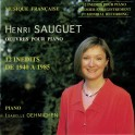 Sauguet : Oeuvres pour piano