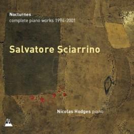 Sciarrino : Intégrale des Oeuvres pour piano de 1994 à 2001