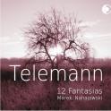 Telemann : 12 Fantaisies / Marek Nahajowski