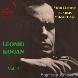 Brahms - Mozart : Concertos pour violon / Leonid Kogan Vol.1