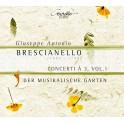 Brescianello, G-A : Concerti à 3 - Volume 1