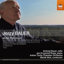 Bauer, Jerzy : Musique pour violoncelle