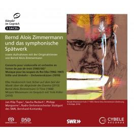 Bernd Alois Zimmermann et ses dernières oeuvres symphoniques