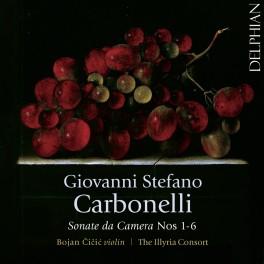 Carbonelli, Giovanni Stefano : Sonate da Camera n°1 à 6