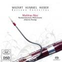 Weber - Mozart - Hummel : Concertos pour basson