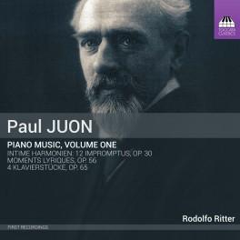 Juon, Paul : Musique pour Piano - Volume 1