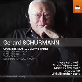 Schurmann, Gerard : Musique de Chambre Vol.3