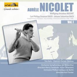Aurèle Nicolet : Enregistrements hirstoriques (1950-1958) Vol.1