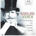 Verdi : Intégrale de Aida, Le Trouvère, Falstaff, Requiem / Herbert von Karajan