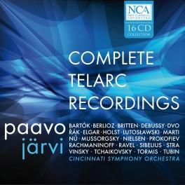 Intégrale des enregistrements Telarc / Paavo Järvi