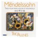 Mendelssohn : Trios n°1 et n°2 / Trio des Aulnes