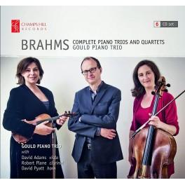 Brahms : Intégrale des Trios avec piano, Quatuors et Sextuors