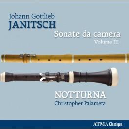 Janitsch, Johann Gottlieb : Sonate da camera Vol.3