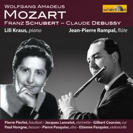 Mozart - Debussy - Schubert : Oeuvres pour flûtes, piano, célesta ..