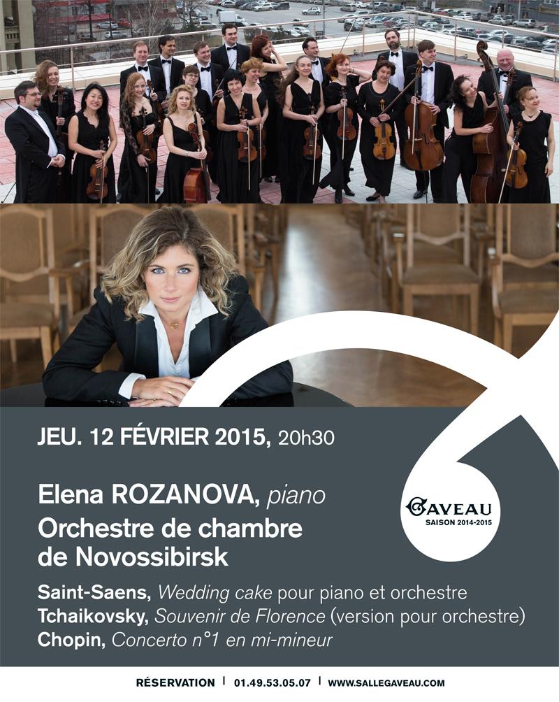 Concert d'Elena Rozano à la Salle Gaveau le 12 Février 2015