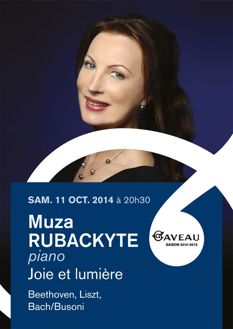 flyer Muza Rubackyte