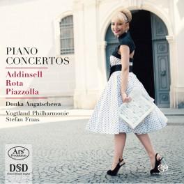 Addinsell - Rota - Piazzolla : Concertos pour piano