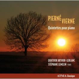Pierné - Vierne : Quintettes pour piano