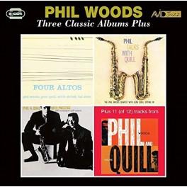 Three Classic Albums Plus / Phil Woods