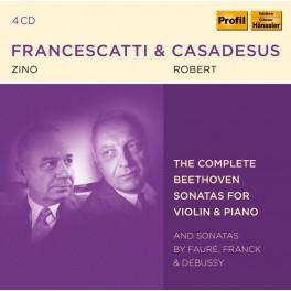 Beethoven : Intégrale des Sonates pour violon et piano / Zino Francescatti & Robert Casadesus