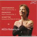 Chostakovitch-Prokofiev-Schnittke : Concertos pour piano