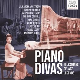 Milestones of Jazz Legends / Jazz Piano Divas