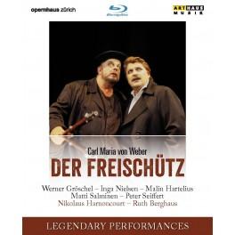 Weber : Der Freischütz (BD) / Opéra de Zurich, 1999