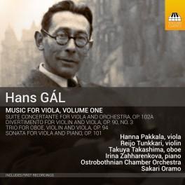 Gál, Hans : Musique pour Alto - Volume 1