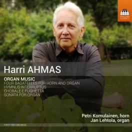 Ahmas, Harri : Musique pour Orgue