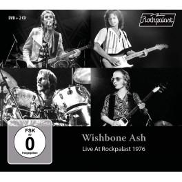 Live At Rockpalast 1976 / Wishbone Ash (2 CD + 1 DVD)